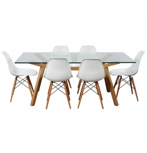 DREAMSEATS CONTEMPO DINING PACKAGE - WOOD