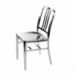 DREAMSEATS_EMECO US NAVY STAINLESS STEEL