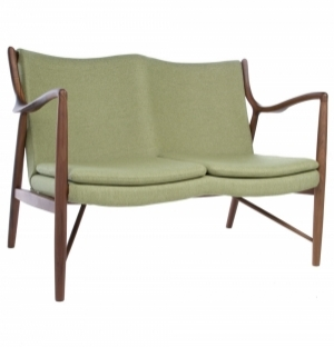 REPLICA FINN JUHL 45 2 SEATER SOFA