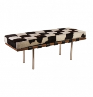 REPLICA MIES BENCH 134CM - COWHIDE