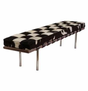 REPLICA MIES BENCH 198CM - COWHIDE