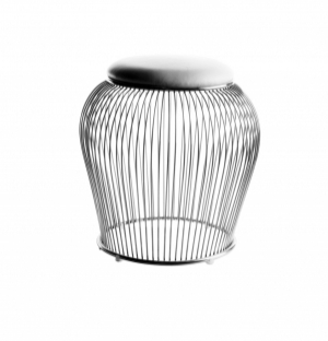 DREAMSEATS_PLATNER WIRE STOOL